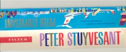 Plaquette Complète D'allumettes PETER STUYVESANT , Cigarette Filter - Longueur 31 Cm (rmt) - Boites D'allumettes