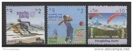 Nepal (2014) - Set -  /  Olympic Games - Sochi - Ski - Cricket - Paragliding - Winter 2014: Sochi