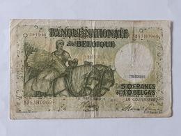 50 Francs - 10 Belgas Du 23-11-1944 . Pas D'épinglage , Ni Déchirure . - [ 2] 1831-... : Regno Del Belgio