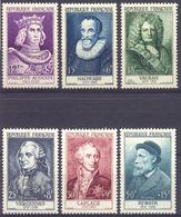 333) Série Du N°989 Au 994 Neufs** De 1954 Cote 180€ - Neufs