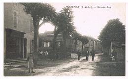 Mazenay - Grande-rue - Francia