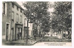 Saint-Léger-sur-Dheune - L'avenue De La Gare - Francia