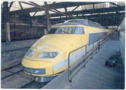 TGV Postal N°4 Gare De Lyon Paris Centre De Tri PTT Exemplaire 208 Sur 700 - Trains