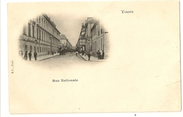 37-16 - Tours - Rue Nationale - Tours