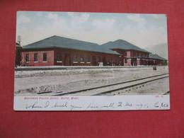 Northern Pacific Depot     Butte Montana >   Ref 3539 - Butte
