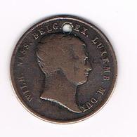 //  HERDENKINGSMUNT WILH.NASS.BELG.REX.LUXEMB.M.DUX MDCCCXV. ( 1815 ) - Elongated Coins