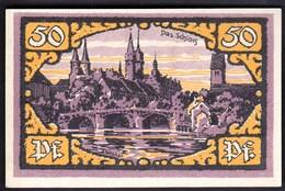 Germany Merfeburg 1921 / 50 Pfennig / Schloss / Gutschein / Notgeld, Banknote - [11] Emissioni Locali