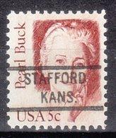 USA Precancel Vorausentwertung Preo, Locals Kansas, Stafford 821 - Vereinigte Staaten