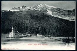 Sulden, Hotel Eller Mit Ortler, Vor 1905, Stilfs, Südtirol, Photoglob 3089 - Bolzano (Bozen)