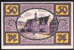 Germany Merfeburg 1921 / 50 Pfennig / Rathaus / Gutschein / Notgeld, Banknote - [11] Lokale Uitgaven