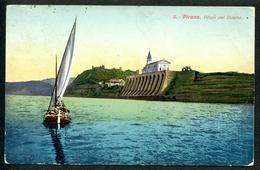 Pirano, Piloni Del Duomo, Segelboot, Um 1910, Portorose - Slowenien