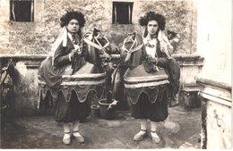 ES POLLENSA - Carte Photo - Baile De Los Caballitos - Cavallets - Cavaliers - Geants - Animée - Belle - Carnevale