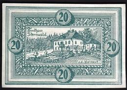 Austria Ober Weissenbach U. Bernhardschlag 1920 / 20 Heller / Gutschein / Kirche / Notgeld, Banknote - Oesterreich