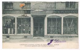 Autun - Lacreuse & Gueux, Quincaillerie Clerc & Perrucot - Autun