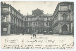 Brussel - Bruxelles - L'Université - 1906 - Onderwijs, Scholen En Universiteiten