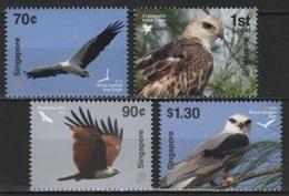 Singapore (2016) - Set -  /  Aves - Birds - Oiseaux - Vogel - Prey - Pájaros