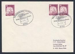 Deutschland Germany 1976 Brief Cover - 10 Jahre DEV Museums-Eisenbahn, Bruchhausen-Vilsen / Railway / Chemin De Fer - Treinen
