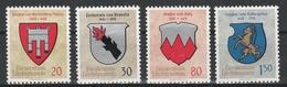 LIECHTENSTEIN  Xx  1964   MI 440-43    Postfrisch  -  Vedi  Foto ! - Liechtenstein