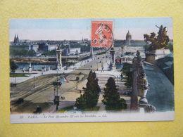 PARIS. Le Pont Alexandre III. - Bruggen