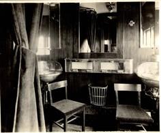 WAGON LIT CNR   24*19CM Fonds Victor FORBIN 1864-1947 - Trenes