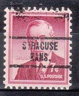 USA Precancel Vorausentwertung Preo, Locals Kansas, Syracuse 734 - Vereinigte Staaten
