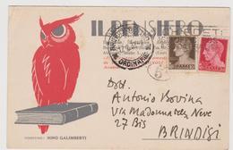 """Rivista """"Il Pensiero"""" , Bergamo, Pubblicitaria Commerciale - F.p. -  Anni '1920-'1930 - Pubblicitari"""