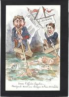 CPA Bobb Satirique Caricature Non Circulé Dessin Original Fait Main Presse Affaire Syveton - Satira