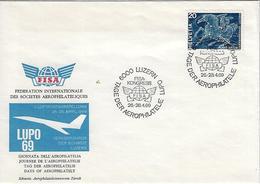 "Switzerland 1969  ""LUPO 69""  26-28.4.69  Mi.896 - Covers & Documents"