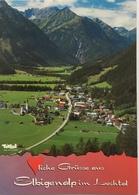 (719) Tirol - Lechtal - Elbigenalp 1040 M - Rotschrofenspitze 2587 M - Griesstalerspitze 2625 M - Souvenir De...