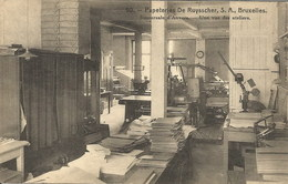 PAPETERIES DE RUYSSCHER, S.A., Bruxelles. Succursale D'Anvers - Une Vue Des Ateliers - Industrie