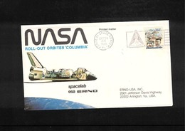 USA 1980 Space / Raumfahrt Space Shuttle - Spacelab Interesting Cover - Briefe U. Dokumente