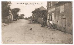 Sainte-Foy - Route De Saint-Christophe Et Bureau De Tabac - Francia
