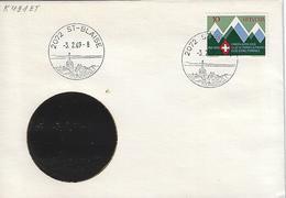 Switzerland 1969  St-Blaise  3.2.69  Mi.870 - Postmark Collection