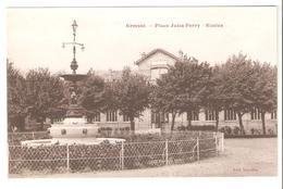 Ermont - Place Jules Ferry - Ecoles - Ermont