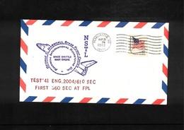 USA 1980 Space / Raumfahrt Space Shuttle Interesting Cover - Briefe U. Dokumente