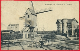 Montaigu (Scherpenheuvel): Le Moulin Et Le Château - Scherpenheuvel-Zichem