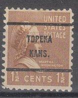 USA Precancel Vorausentwertung Preo, Bureau Kansas, Topeka 805-61 - Vereinigte Staaten