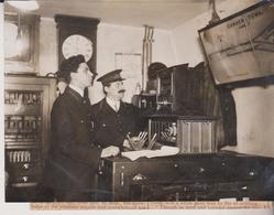 CAMDEN TOWN SIGNALMAN TASK HAMPSTEAD TUBE RAILWAY CHEMIN DE FER EISENBAHN 16*12CM Fonds Victor FORBIN 1864-1947 - Trenes