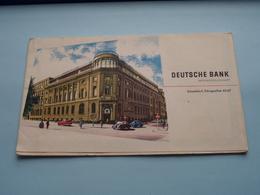 DEUTSCHE BANK Stadtplan Düsseldorf Königsallee - 1/320.000 ( Druck : Gröbchen Willy ) Open 42 X 48 Cm.! - Europe