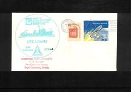 USA 1981 Space / Raumfahrt Space Shuttle Interesting Cover - Briefe U. Dokumente