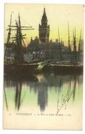 59-91 -Dunkerque ( N°77) - Le Port Au Soleil Couchant - Dunkerque