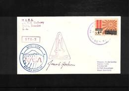 USA + Ecuador 1981 Space / Raumfahrt Space Shuttle - STDN Station Quito Ecuador Interesting Cover - Briefe U. Dokumente