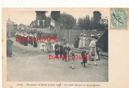 80 // CORBIE  Procession De Sainte Colette, Les Petits Zouaves Et Les Colettines - Corbie