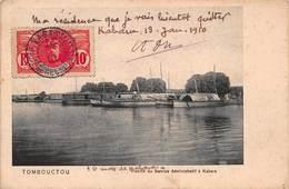 CPA TOMBOUCTOU - Flotille Du Service Administratif à Kabara - Mali