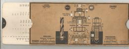 Régle De Calcul OMARO , Systéme Whitworth , Perçage , Taraudage ,  2 Scans , Frais Fr 2.55 E - Autres