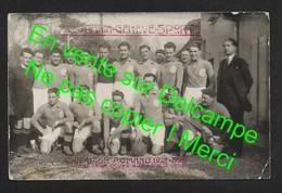 Offre Réservée POLDOBALORDO Football FC URANIA Genève Sport / Suisse  / Carte Photo Véritable - GE Genève