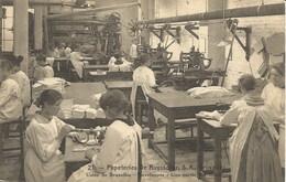 PAPETERIES DE RUYSSCHER, S.A., Bruxelles. Usine De Bruxelles - Enveloppes : Une Partie Des Machines - Industrie