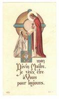 DONNEMENT SOUVENIR Bernadette ZBINDEN MON DIVIN MAÎTRE IMAGE PIEUSE RELIGIEUSE RELIGIEUX HOLY CARD SANTINI PRENTJE - Devotion Images
