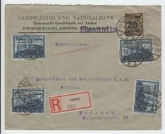 Inflation , Einschreiben Aus Sassnitz - Covers & Documents