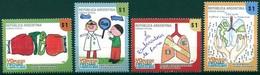 Argentine - 2009 - Yt 2815/2818 - Concours De Dessins D'enfants Contre La Tuberculose  - ** - Neufs